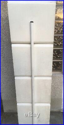 Meuble casiers pied tulipe design 70 metal industriel rangements magasin JELEM