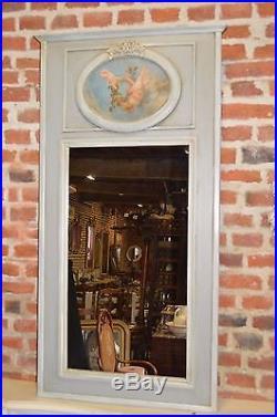 Miroir Trumeau En Bois Avec Anges