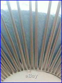 Miroir soleil CHATY VALLAURIS oeil de sorcière Vintage design années 60 70