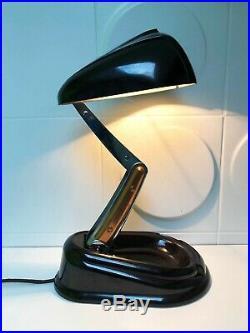 Mythique Lampe BOLIDE JUMO Bakélite Vintage An 50's
