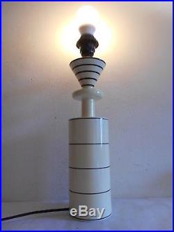 Olivier Villatte Pied De Lampe Vintage 1980 Design Memphis Totem Ettore Sottsass
