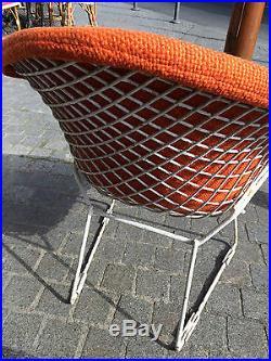 PAIRE DE FAUTEUIL BERTOIA DIAMOND Vintage Knoll Lounge Chair ORIGINAL S22