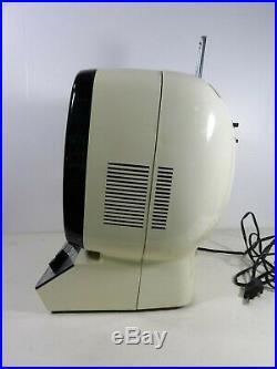 PRANDONI Télé télévision portable vintage design space age panton années 1970