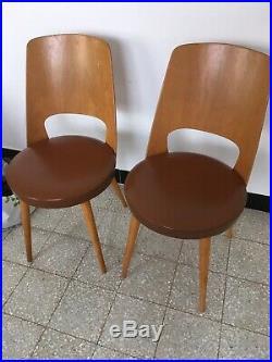 Paire Chaises Baumann Mondor Vintage Design Scandinave