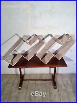 Paire Etageres Dedal Matégot Vintage Shelves