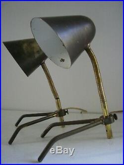 Paire Lampes cocotte Vintage 1950 Biny / Lacroix / Kolbe