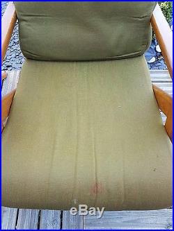 Paire de Fauteuil s en Teck Design scandinave anneés 50 Lounge Chair