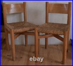 Paire de chaises Meribel de Charlotte Perriand