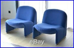 Paire de fauteuils Alky de Giancarlo Piretti pour Castelli / knoll paulin togo