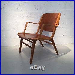 Paire de fauteuils Ax de Peter Hvidt pour Fritz Hansen circa 1970