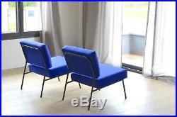 Paire de fauteuils de Pierre Guariche édition Airborne vintage scandinave