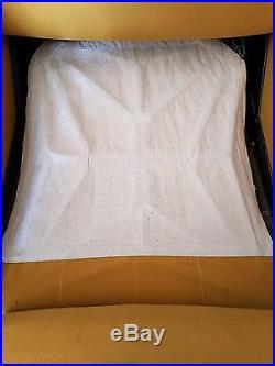 Paire de fauteuils design AIRBONE PIERRE GUARICHE MODELE TROIKA 1950 VINTAGE
