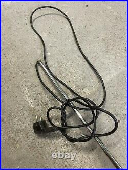 Partie Lampe Spider joe colombo Oluce Design Vintage Lampadaire Noir En L État