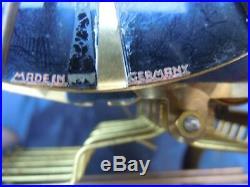 Pendule carillon schatz 8 marteaux pendulette musicale made Germany vers 1960