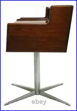 Petite Table Console Bureau Secrétaire Design Italien Ans 70 Vintage Parisi