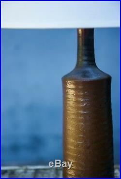 Pied de lampe en céramique années 50