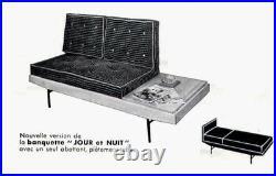 Pierre Guariche banquette jour et nuit circa 1955