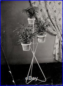 Porte-plantes 3 cache-pots de Mathieu Matégot 1950