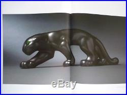 Primavera Panthere En Marche Ceramique Craquele Art Deco 1930