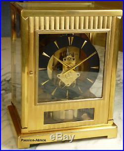 RARE PENDULE ATMOS IV TUXEDO DE 1955 Jaeger LeCoultre (clock uhr)