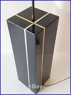ROCHE BOBOIS CHIC & IMPORTANTE LAMPE DE SALON 1970 1980 VINTAGE 70's 80's LAMP