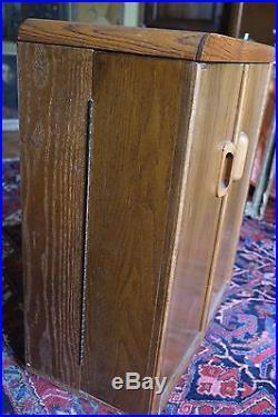 Rare Beau Meuble Design D'origine Art Deco 2 Portes -interieur 21 Compartiments