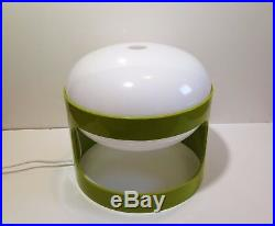 Rare LAMPE KD27 Vert pomme de Joe Colombo pour Kartell Vintage An 70's