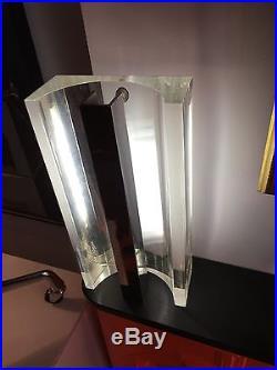 Rare Lampe De Michel Dumas 1970-70 Design- Vintage- Plexi