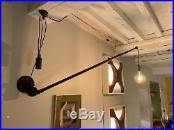 Rare Lampe Triplex Johan Petter Johansson 1920 1930 Design Epoque Jean Prouve