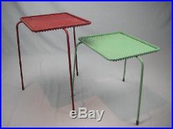 Rare Paire De Table Sumba Par Mathieu Mategot