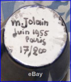 Rare Pichet Mado Jolain signé daté numéroté