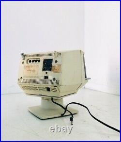 Rare TV 5P-12G TV Sharp conception des années 70 vintage Space Age de travail