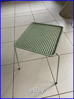Rare Table Soumba De Mathieu Mategot Design 1950
