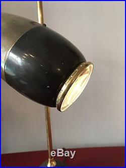 Rare -Très Belle Et Grande Lampe Oscar Torlasco 55 cm 1950- Design-vintage