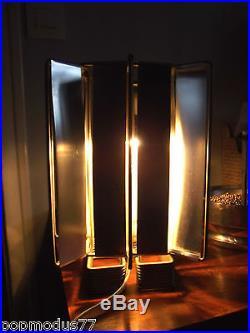 Rare ancienne lampe Max Sauze design 1970 desk lamp vintage