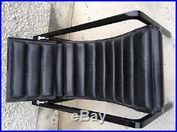 Rare fauteuil TRANSAT laque noir design EILEEN GRAY lounge chair
