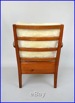 Rare fauteuil Utö-Lovö d'Axel Einar Hjorth éd Nordiska Kompaniet circa 1943