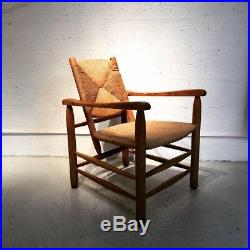 Rare fauteuil bauche n°21 de Charlotte Perriand édition Steph Simon