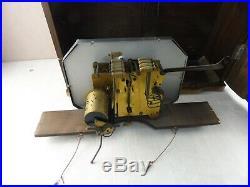 Rare horloge / carillon / pendule, Odo 24, Westminster, 10 tiges, 11 marteaux