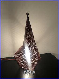 Rare lampe Bagdad Mathieu Matégot 1950 Tres Bon Etat Général