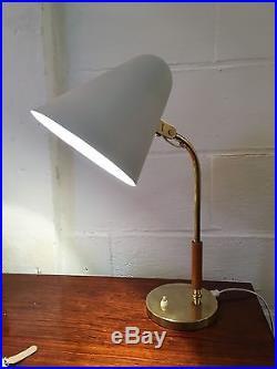 Rare lampe de table de Paavo Tynell édité par Idman circa 1960