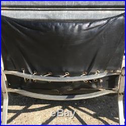 Rare paire de fauteuils PK22 de Kjaerholm 1e édition Kold Christensen cuir noir