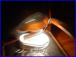 Rare véritable lampe d'époque JUMO LUCIDUS BLOC BAKELITE BLANCHE REPEINTE