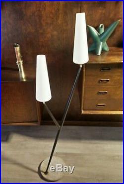Rarissime lampadaire des années 50's design vintage light