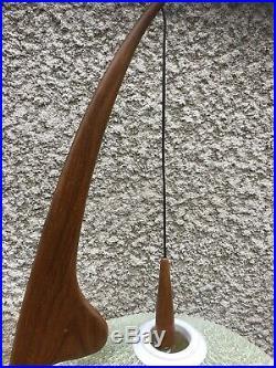Rispal Lampadaire Vintage Lampe Mante Religieuse 1950 Mid Century Lampada Lamp