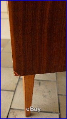 SECRéTAIRE éTAGèRE BIBILOTHèQUE VITRINE TECK VINTAGE ESPRIT SCANDINAVE 1960 1970