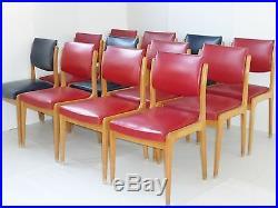 STELLA CHAISE 50's STYLE ORGANIQUE SCANDINAVE VINTAGE 1950 1960 13 UNITES