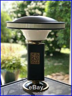 SUPERBE LAMPE JUMO DE EILEEN GRAY année modèle 1940 Sirene