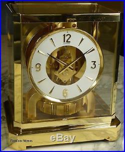 SUPERBE PENDULE ATMOS VIII de 1977 Jaeger LeCoultre (clock uhr)