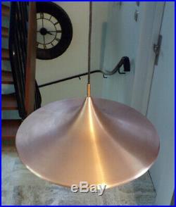 SUSPENSION SCANDINAVE LAMPE MéTAL CUIVRE DESIGN 60 70 dlg fog & morup